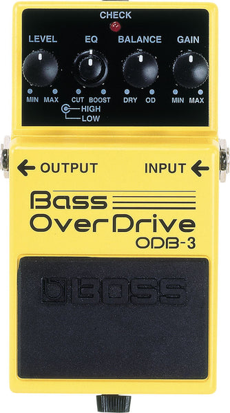 BOSS ODB3 Bass Overdrive - La Pietra Music Planet