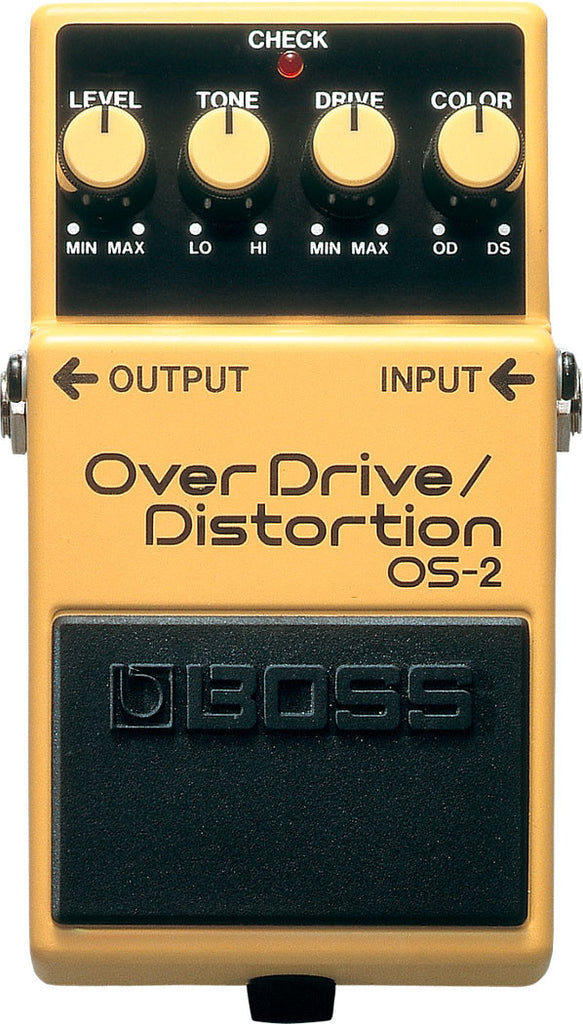 BOSS OS2 Overdrive Distortion - La Pietra Music Planet