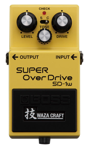 BOSS Sd1w Super Overdrive (Waza Craft) - La Pietra Music Planet
