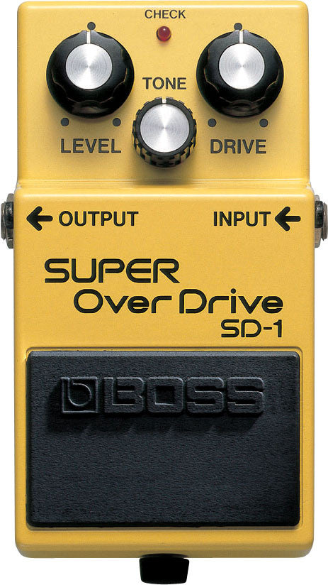 BOSS SD1 Super Overdrive - La Pietra Music Planet