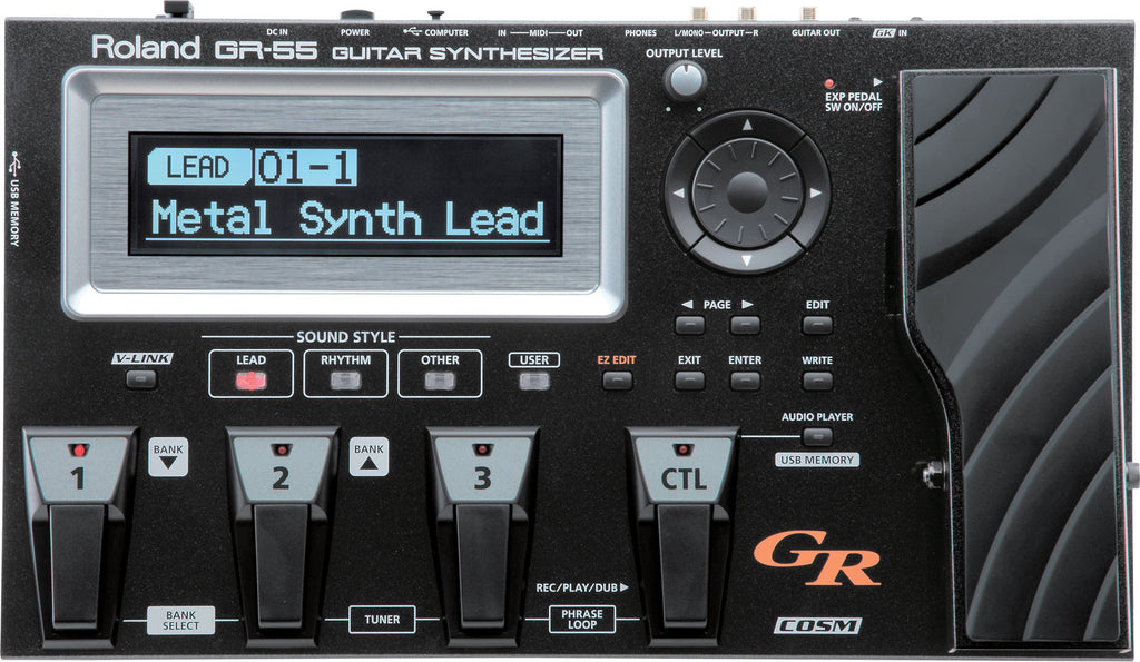 BOSS Gr55Gk Guitar Synth - La Pietra Music Planet - 1