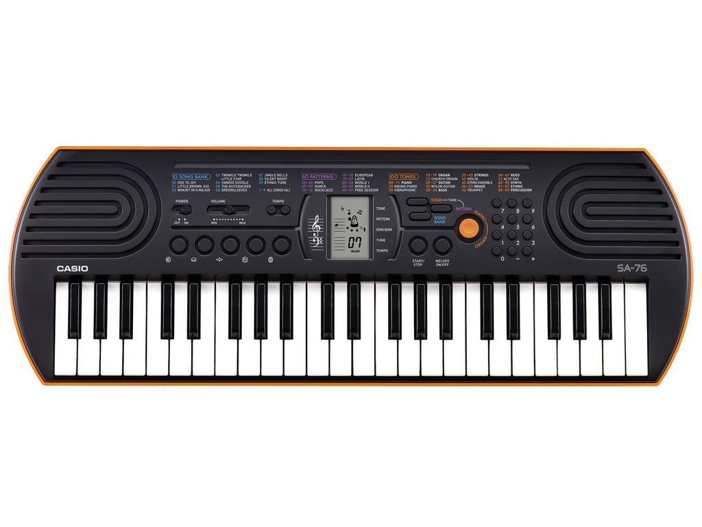 CASIO SA76 - La Pietra Music Planet