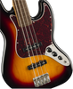 SQUIER Classic Vibe '60s Jazz Bass® Fretless LRL 3-Color Sunburst