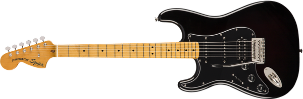 SQUIER Classic Vibe '70s Stratocaster® HSS Left Handed Maple Black