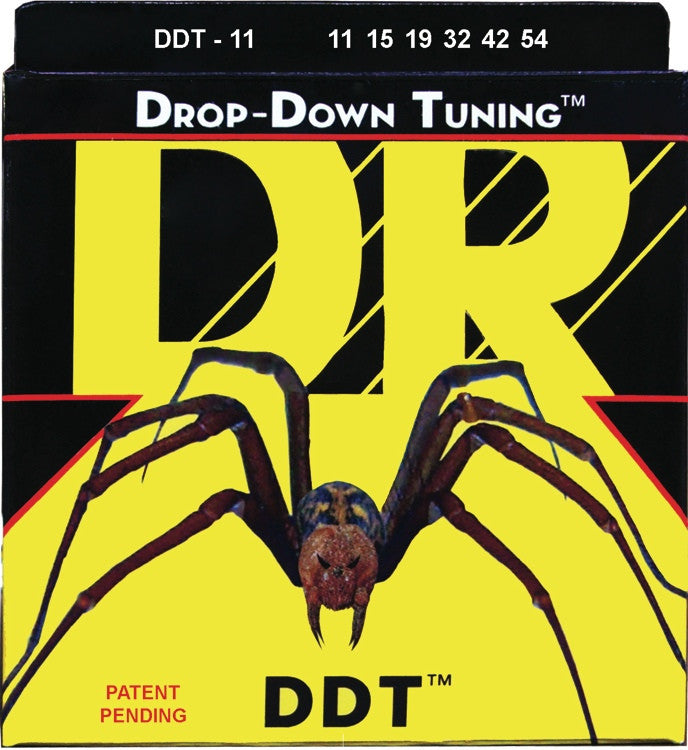 DR STRINGS Ddt11 Set 6 Corde Drop Down Tuning - La Pietra Music Planet
