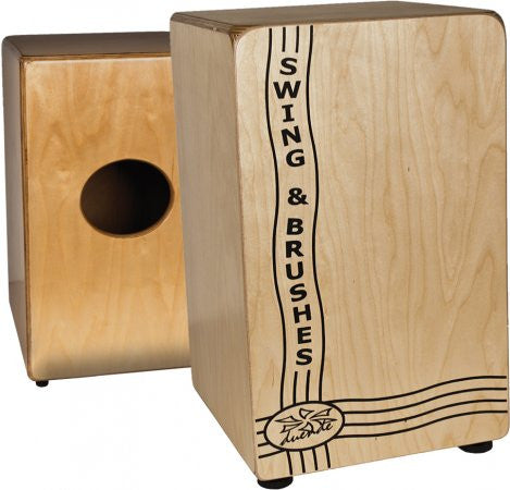 DUENDE Cajon Swing & Brushes - La Pietra Music Planet