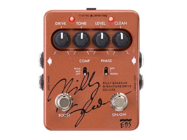 EBS BSD Billy Sheehan Signature Deluxe - La Pietra Music Planet - 1