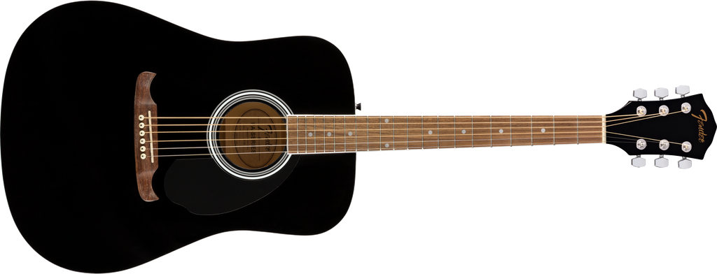 FENDER FA125 Dreadnought Walnut Fingerboard Black