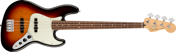 FENDER Player Jazz Bass® Pau Ferro Fingerboard, 3-Color Sunburst