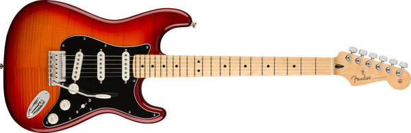 FENDER Player Stratocaster® Plus Top Maple Fingerboard Aged Cherry Burst