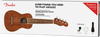 FENDER Seaside Soprano Ukulele Pack Walnut Fingerboard Natural