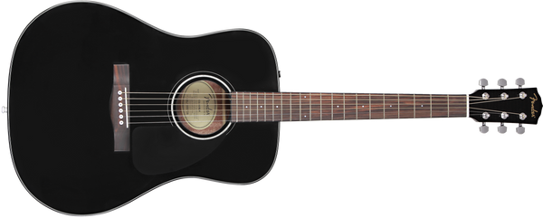 FENDER CD60 DREAD BLACK V.3 - Novita' 2019 -