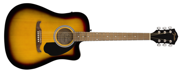 FENDER FA125CE Dreadnought Walnut Fingerboard Sunburst