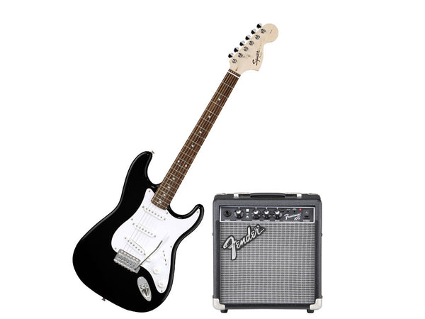 SQUIER Strato Affinity Pack Black - La Pietra Music Planet