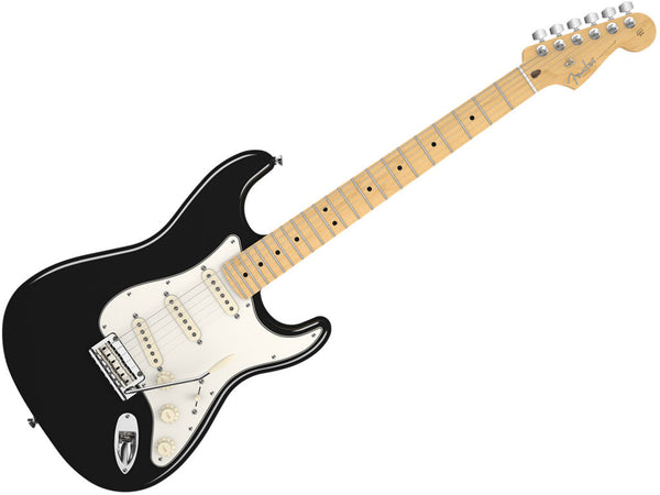FENDER StratoCaster Usa Standard Black Mn - La Pietra Music Planet