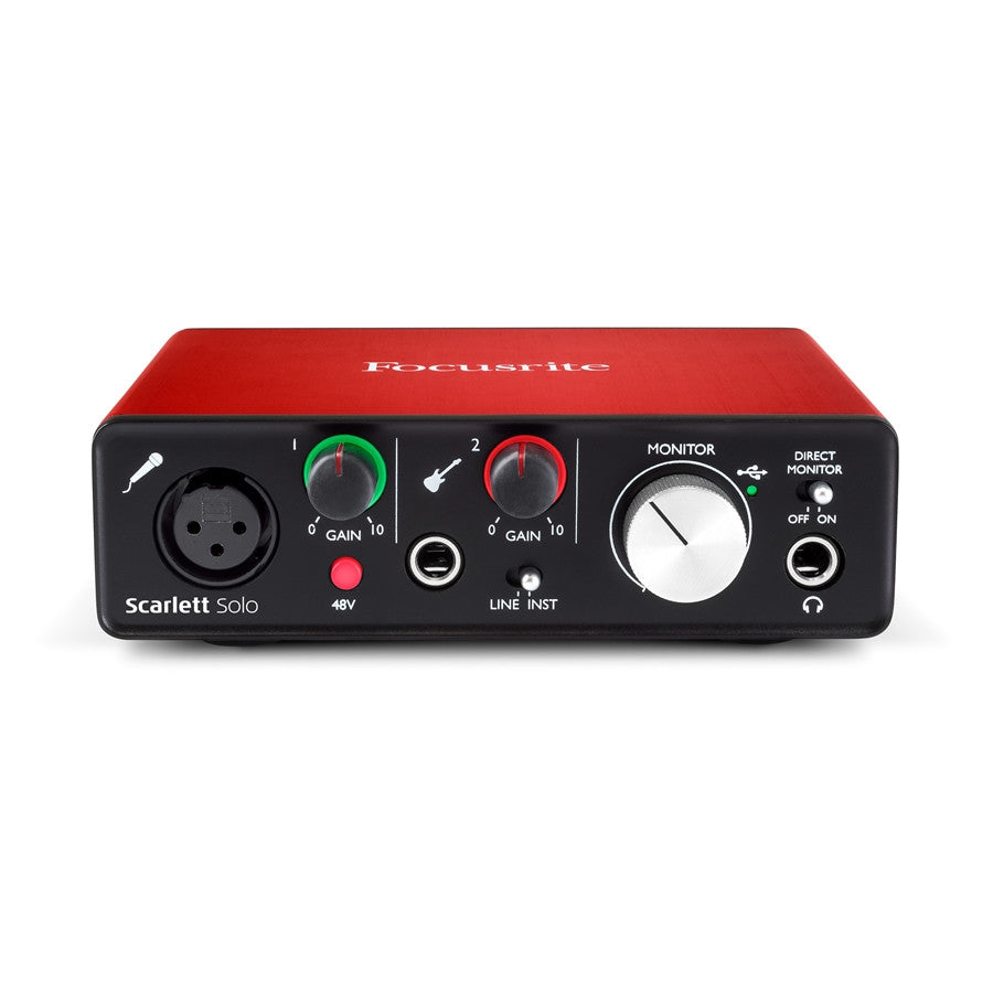 FOCUSRITE Scarlett 2i2 (2nd Generation) - La Pietra Music Planet - 1