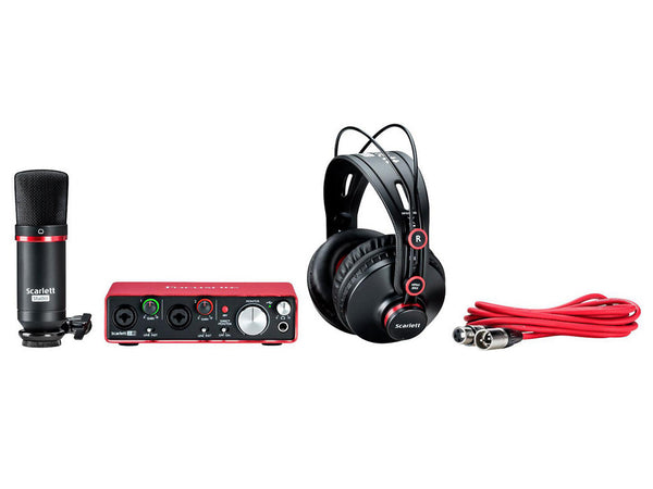 FOCUSRITE Scarlett 2i2 Studio (2nd Generation) - La Pietra Music Planet