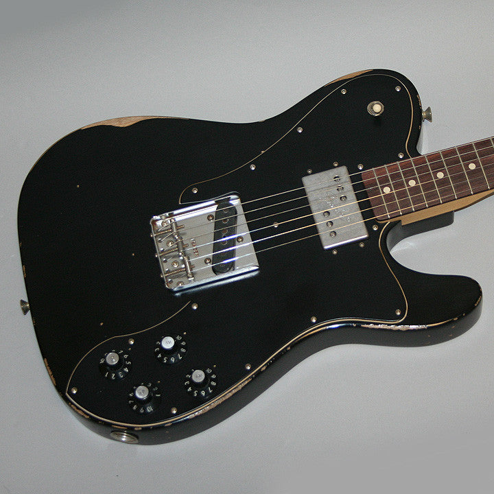 FENDER Telecaster 72 Custom Roadworn Black Mexico - La Pietra Music Planet