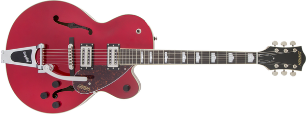 GRETSCH G2420T Streamliner™ Hollow Body with Bigsby®, Laurel Fingerboard Broad'Tron™ BT-2S Pickups Candy Apple Red