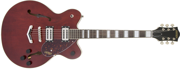GRETSCH  G2622 Streamliner™ Center Block with V-Stoptail Laurel Fingerboard, Broad'Tron™ BT-2S Pickups Walnut Stain