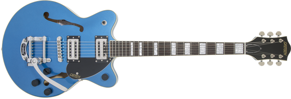 GRETSCH  G2655T Streamliner™ Center Block Jr. with Bigsby® Laurel Fingerboard Broad'Tron™ BT-2S Pickups Fairlane Blue