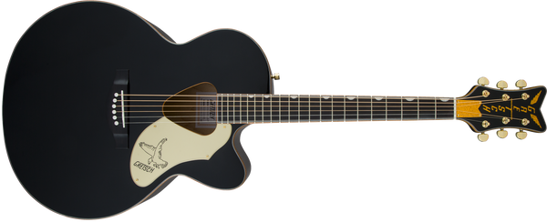 GRETSCH G5022CBFE Rancher™ Falcon™ Jumbo Cutaway Acoustic/Electric Fishman® Pickup System Black