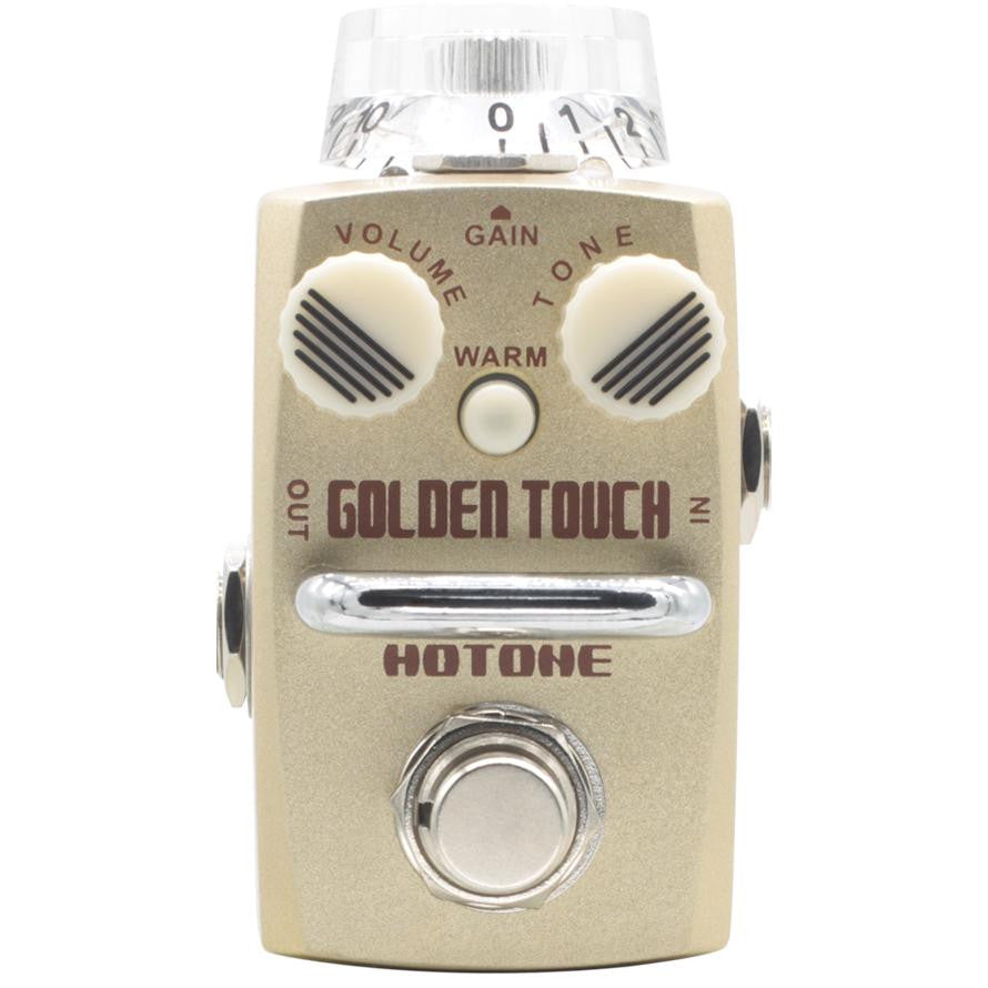 HOTONE Golden Touch Mini Overdrive - La Pietra Music Planet