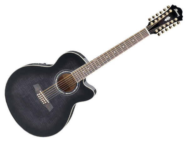 IBANEZ Ael2012Tks BLack - La Pietra Music Planet