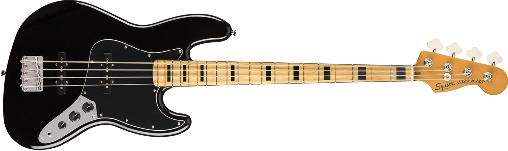 SQUIER Classic Vibe '70s Jazz Bass® MN Black