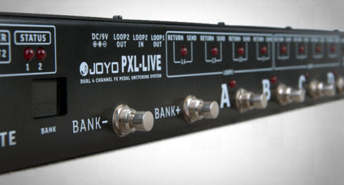 JOYO Pxl LIve Looper Switcher Midi - La Pietra Music Planet