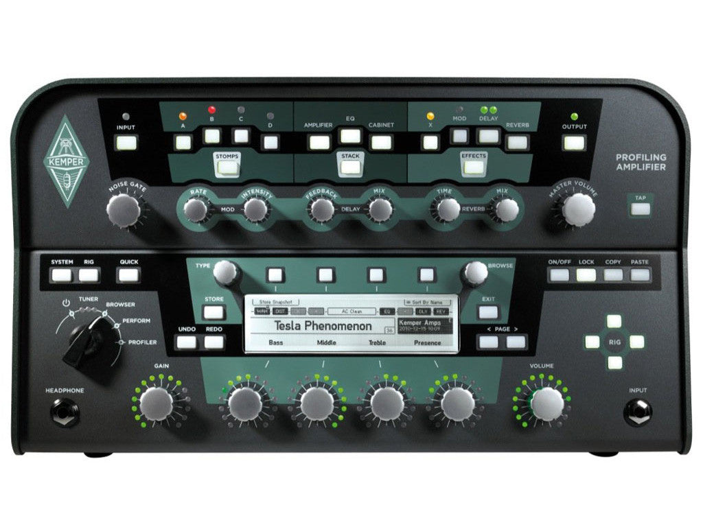 KEMPER Profiling Amplifier Head - La Pietra Music Planet - 1