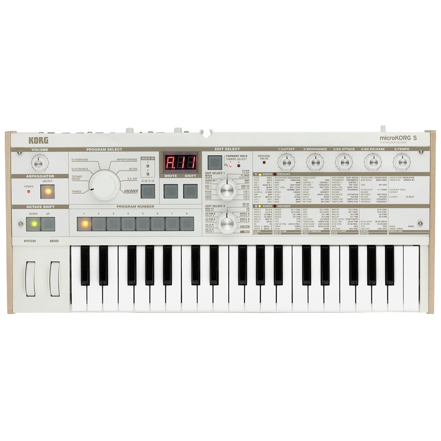 KORG MicroKorg MK1S New 2016! - La Pietra Music Planet