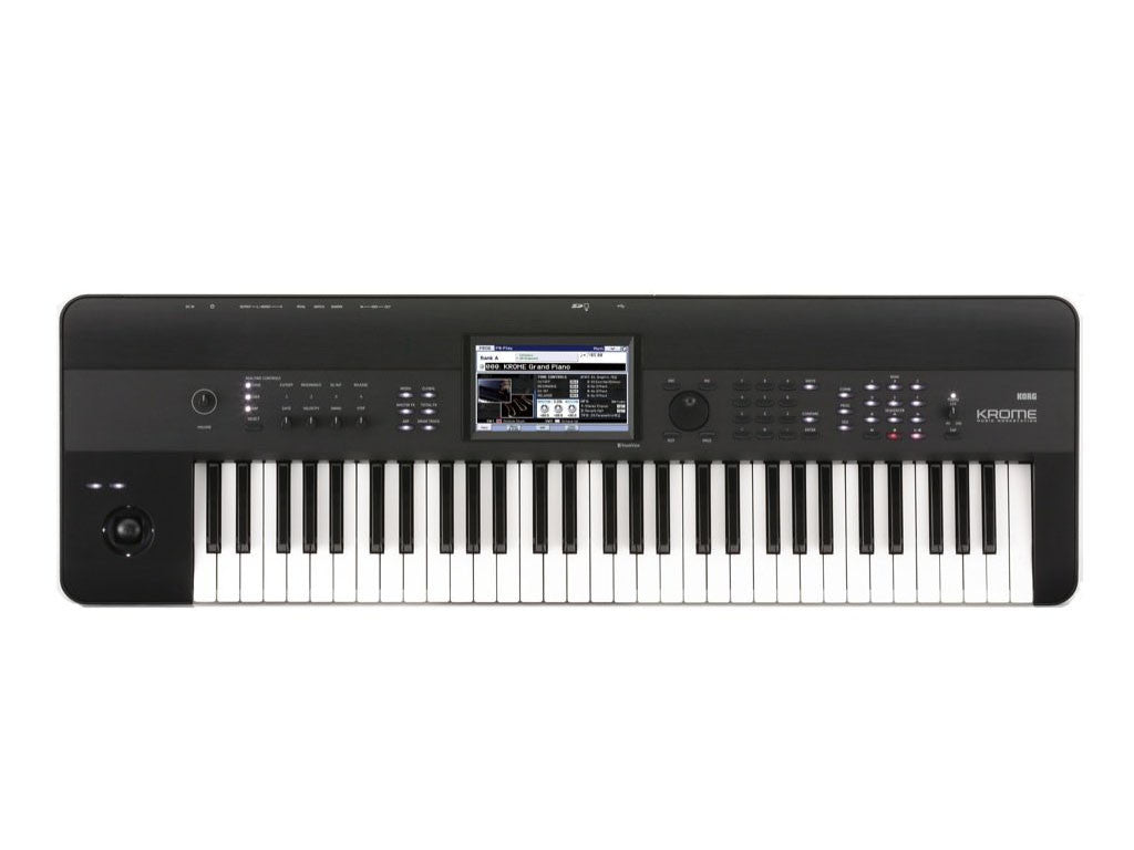 KORG Krome 61 Black - La Pietra Music Planet