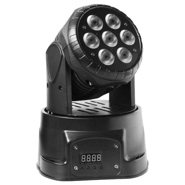 SOUNDSATION Mhl12 w7 Testa Mobile Led Rgbw - La Pietra Music Planet