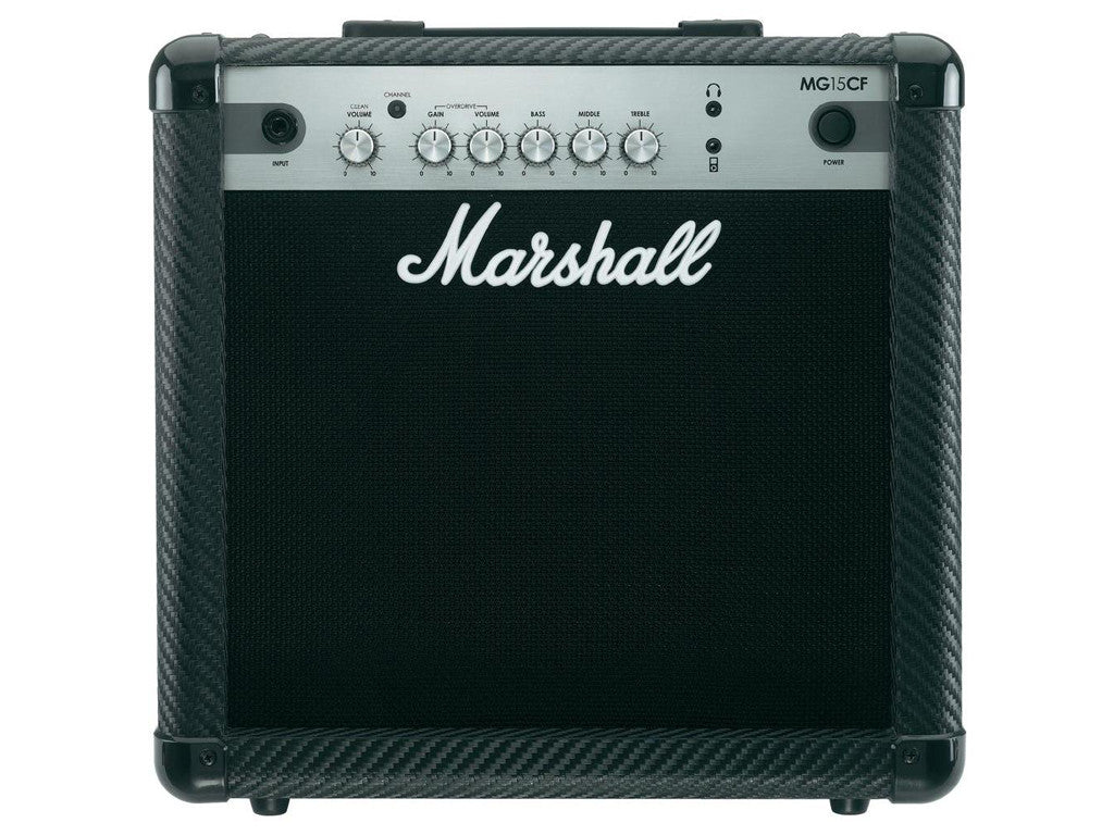 MARSHALL MG15CF Carbon Filter - La Pietra Music Planet