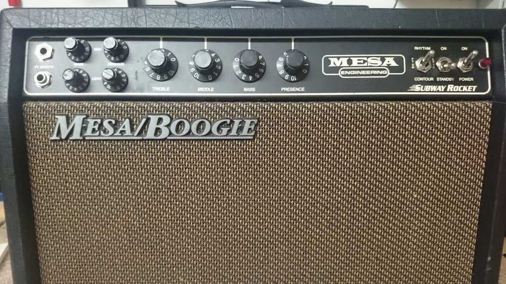 MESA BOOGIE SubWay Rocket Used - La Pietra Music Planet