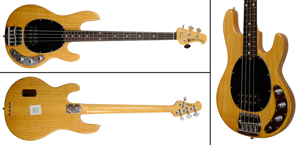 MUSIC MAN Sting Ray Src 4 Classic Natural - La Pietra Music Planet