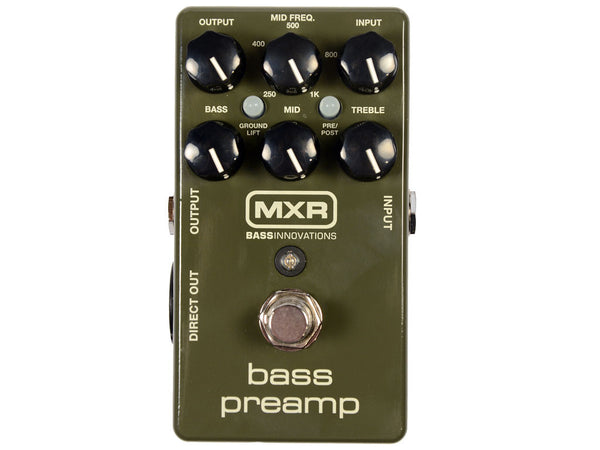 MXR M81 Bass Preamp - La Pietra Music Planet