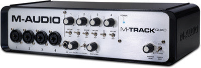 M AUDIO M-track Quad - La Pietra Music Planet - 1