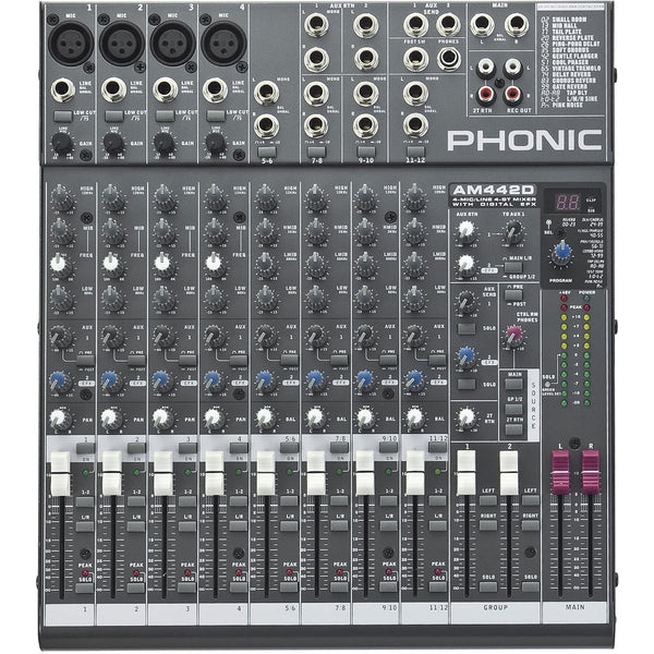 PHONIC Am442d - La Pietra Music Planet