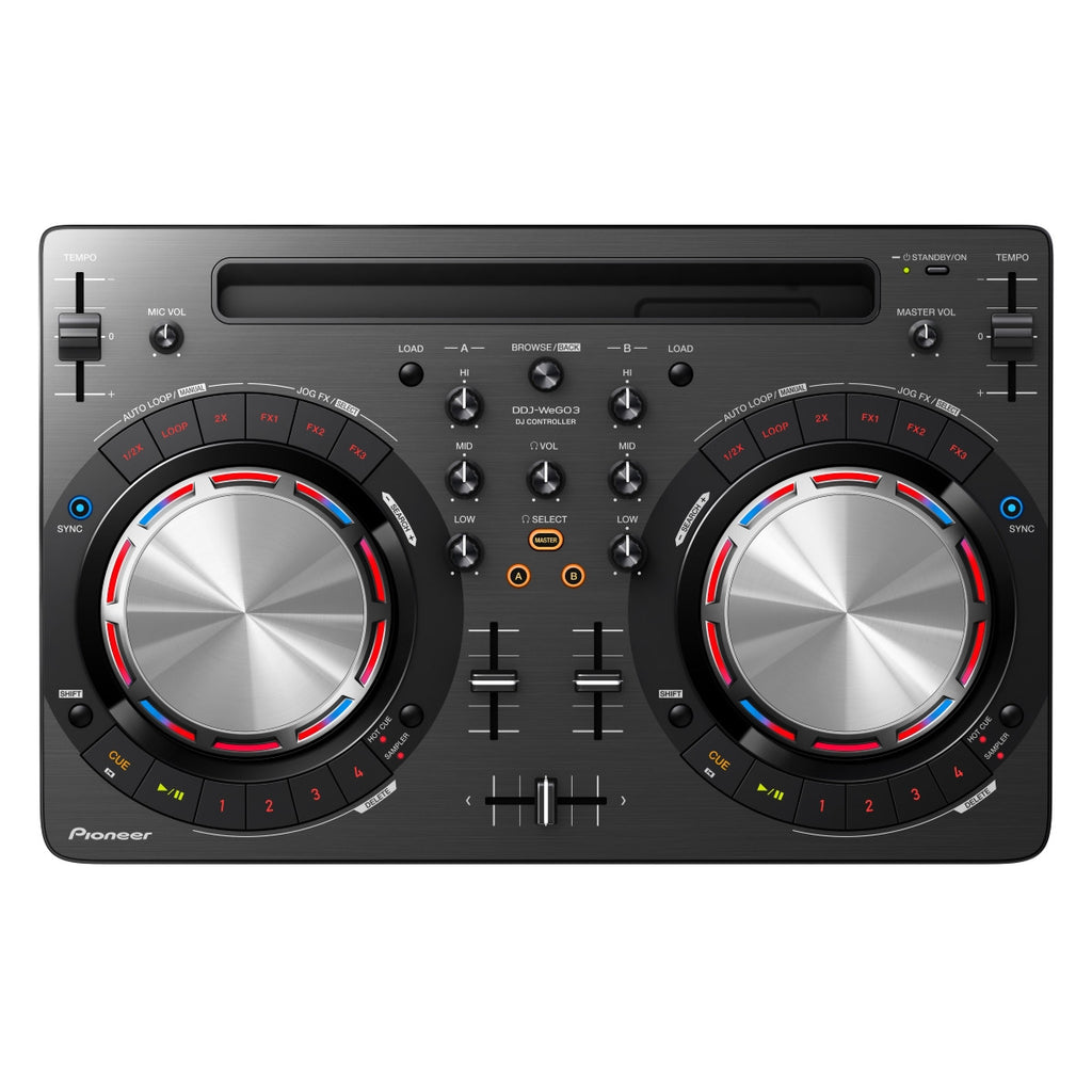 PIONEER Ddj Wego 3 White o Black - La Pietra Music Planet - 1