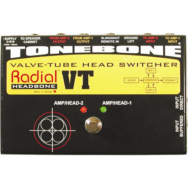 RADIAL ToneBone Headbone VT Switcher - Offerta -