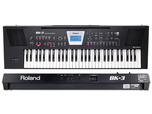 ROLAND Bk3 Black - La Pietra Music Planet