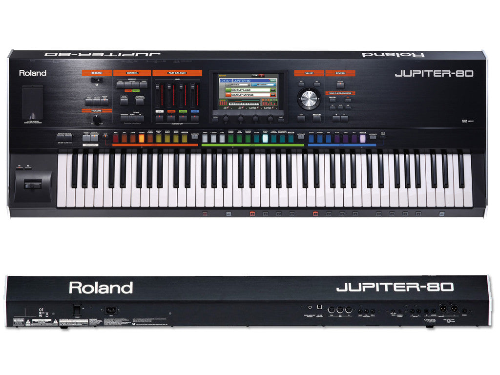 ROLAND Jupiter 80 V2 - La Pietra Music Planet