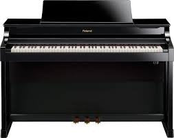ROLAND Hp307 Sba Satin Black - La Pietra Music Planet