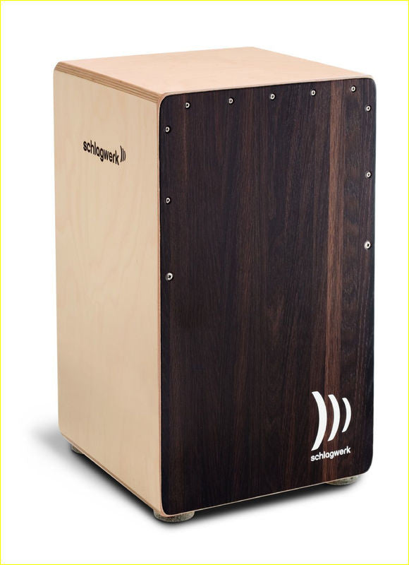 SCHLAGWERK CP 408 2 in One Snare Cajon Dark Oak - La Pietra Music Planet