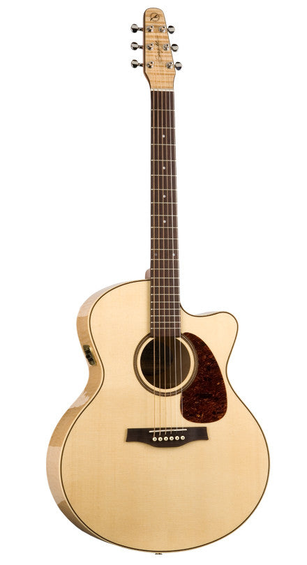 SEAGULL Performer Mini Jumbo Flame Cw - La Pietra Music Planet - 1
