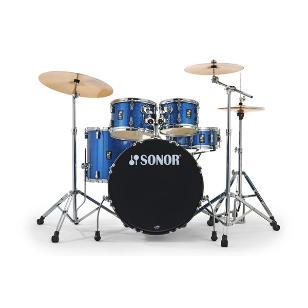 SONOR AQX Stage Set BOS Blue Ocean Sparkle - New 2021 -