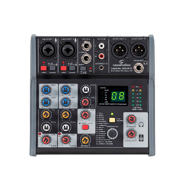 SOUNDSATION MIOMIX204 FX