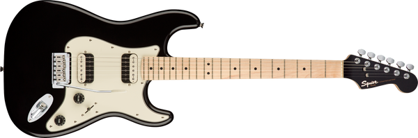 SQUIER Contemporary Stratocaster® HH, Maple Fingerboard, Black Metallic